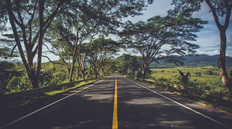 Route vers les montagnes